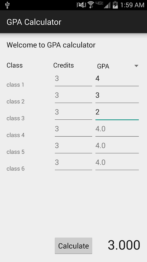 gpa calculator android apps on play