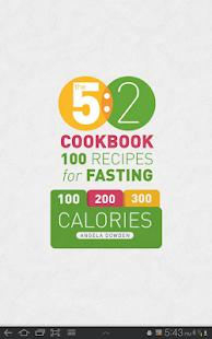 5:2 Fasting Diet Recipes - screenshot thumbnail