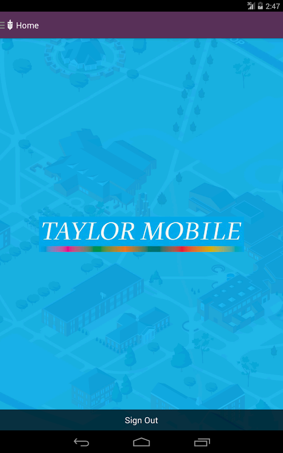 Taylor Mobile- screenshot