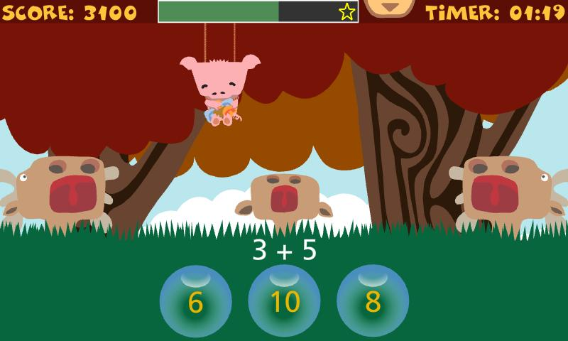 NumFun - Addition - screenshot