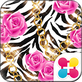 Zebra and Roses for[+]HOME