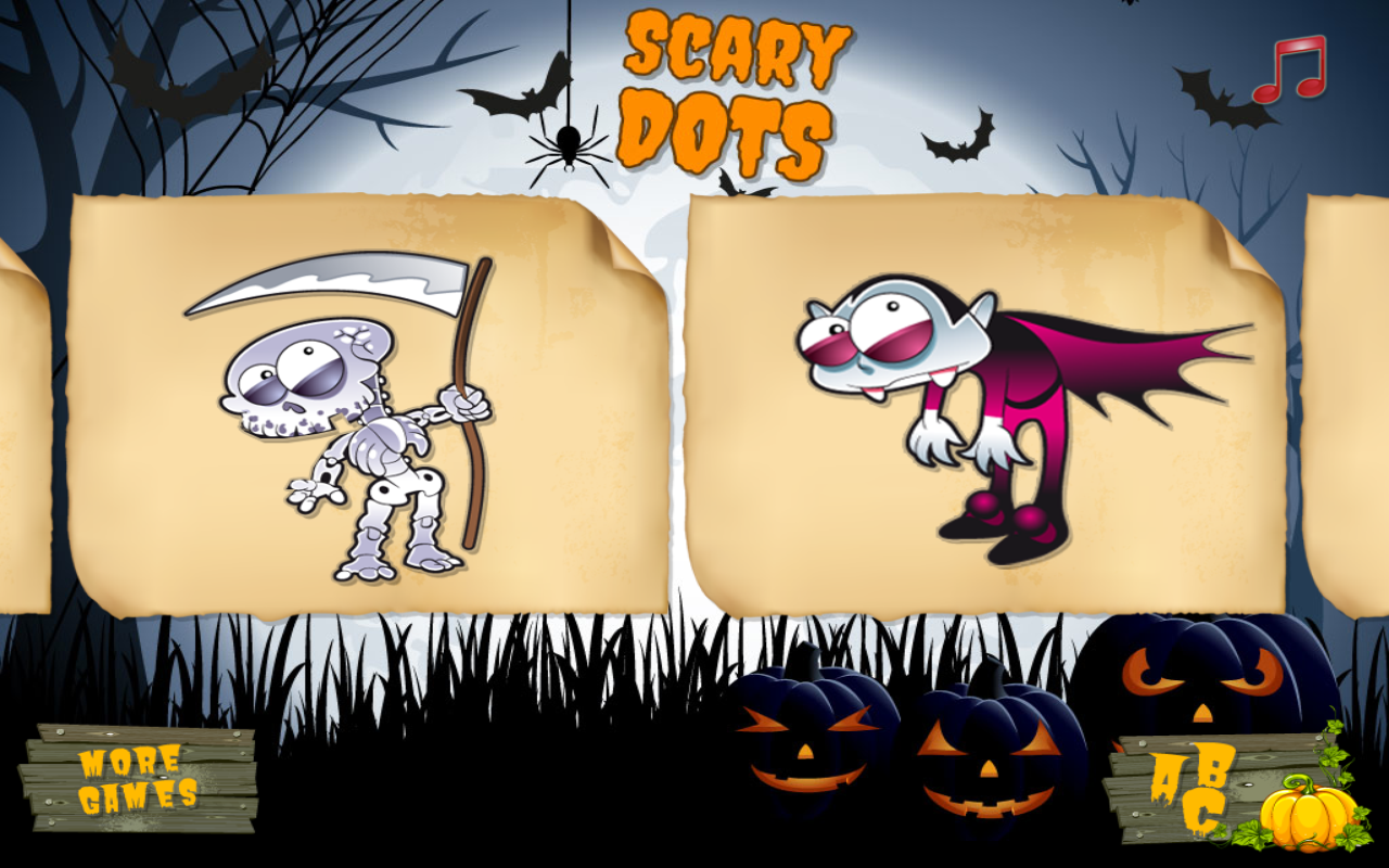 Scary Dots for toddlers- screenshot