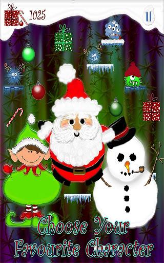 Santa Tree Jump Christmas Game
