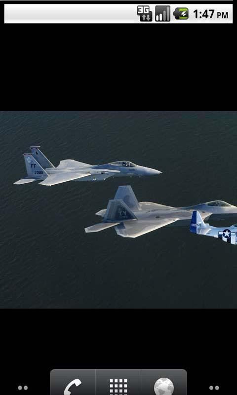 Air Force Cool Live Wallpaper - screenshot