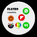 Flatro Rounded Circle Icons