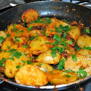 German-style Potatoes.