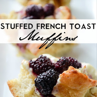 Stuffed French Toast Muffins