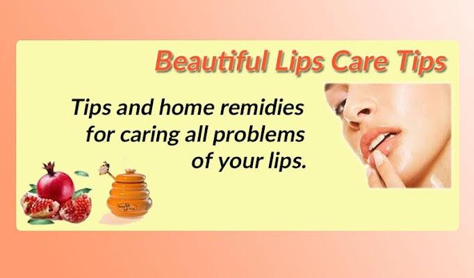 Beautiful Lips Care Tips - screenshot
