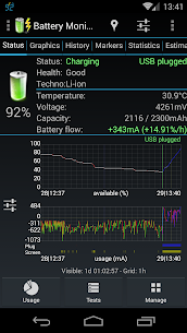 Battery Monitor Widget Pro V1.4.1 Mod APK 2
