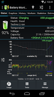 3C Battery Monitor Widget Pro Screenshot