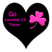PinkMatte Go Launcher Theme