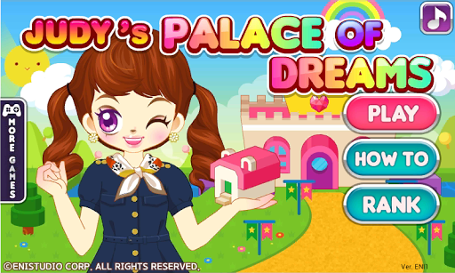 Judy's Dream Palace-Girls Game