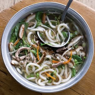 Udon Noodle Soup with Pork
