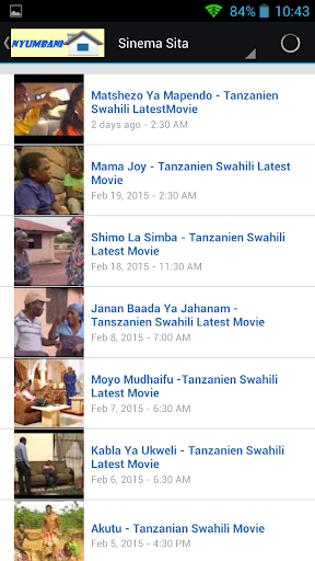 【免費娛樂App】Swahili Bongo Movies-APP點子