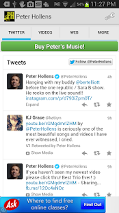 Peter Hollens Official- screenshot thumbnail