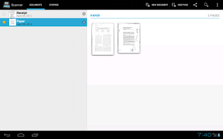 Screenshot of Handy Scanner Free PDF Creator