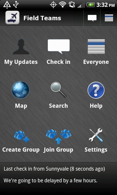 Field Teams   Company Checkin - screenshot