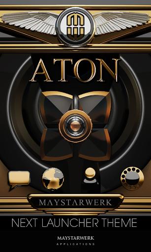 Next Launcher Theme Aton