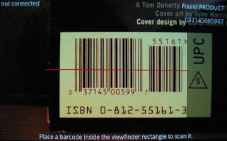 Screenshot of Bluetooth Barcode Scanner