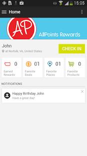 AllPoints Rewards - screenshot thumbnail