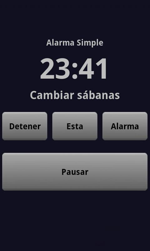 Simple Alarm Pro - screenshot