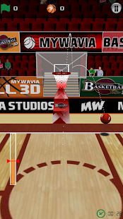 Basketball Games - 3D Frenzy- screenshot thumbnail