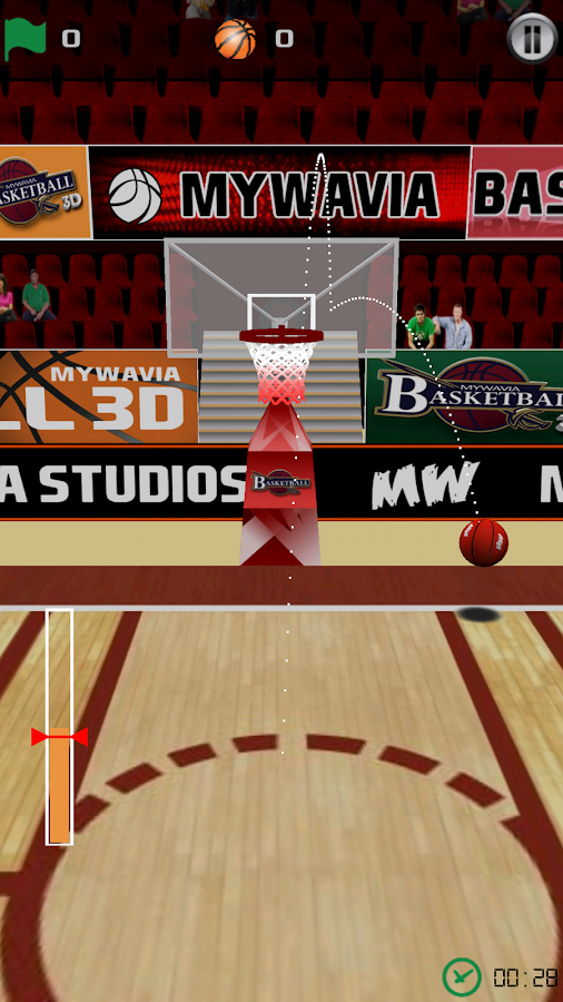 Basketball Games - 3D Frenzy- screenshot