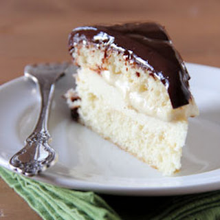 Boston Cream Pie Cheesecake
