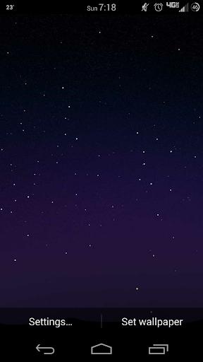 Fireflies Lite Live Wallpaper