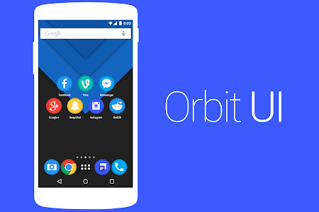 Orbit UI - Icon Pack v1.0.2