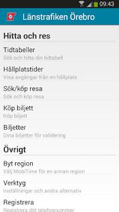Länstrafiken Örebro - screenshot thumbnail
