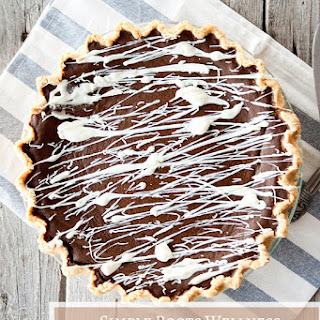 Double Chocolate Pumpkin Pie (Grain-Free, Paleo)