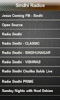 Screenshot of Sindhi Radio Sindhi Radios