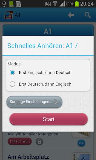 【免費教育App】Vokabeltrainer Englisch-APP點子