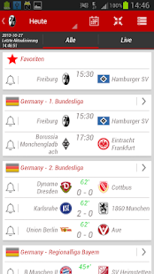 SC Freiburg App - screenshot thumbnail