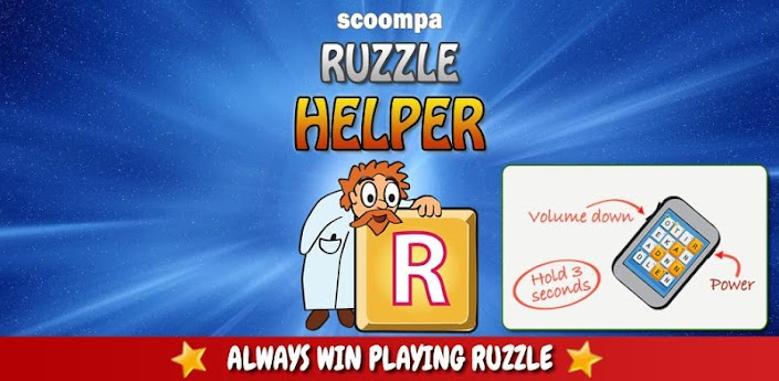 Ruzzle Helper Full