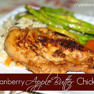 Cranberry Apple Butter Chicken