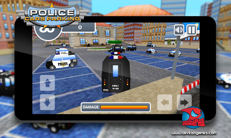 Police Cars Parking- screenshot