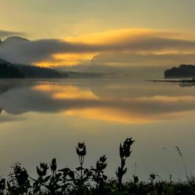 One morning! by Jože Borišek - Landscapes Weather ( bohinj-slovenia )