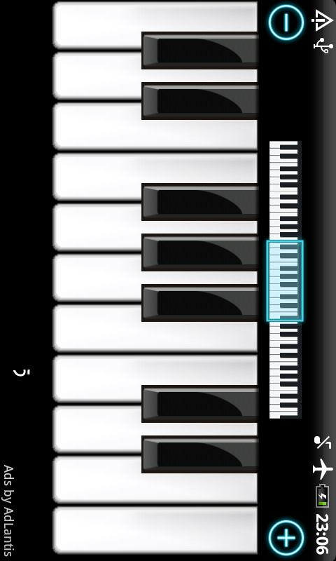 Piano - screenshot