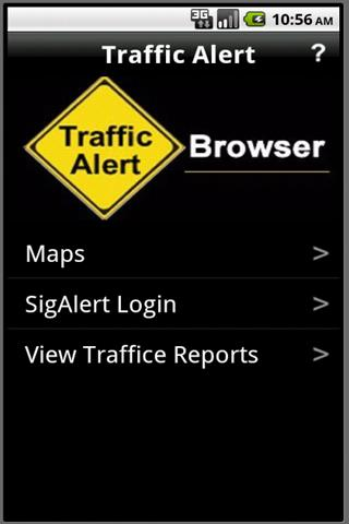 Traffic Alert - screenshot