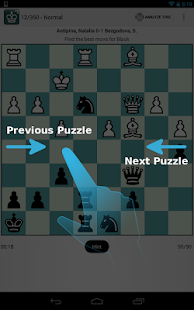 Chess Puzzles - iChess Free - screenshot thumbnail