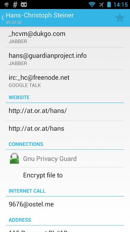 Gnu Privacy Guard - screenshot