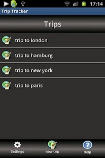 Trip Tracker- screenshot thumbnail