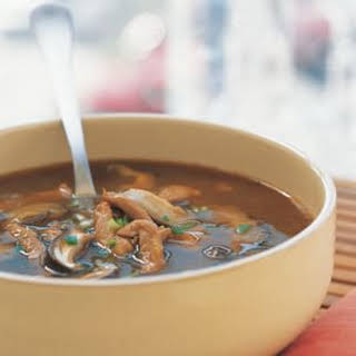 Hot and Sour Soup with Pork.