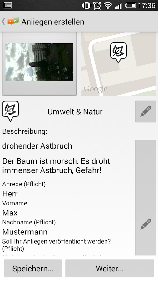 Sag's doch- screenshot