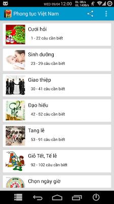 Phong tục Việt Nam - Hay - screenshot