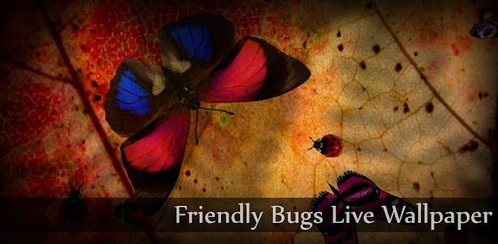Friendly Bugs Live Wallpaper apk