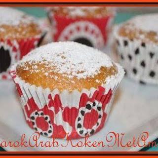 Muffins Met Honing, Banaan, Rozijnen En Pecannoten