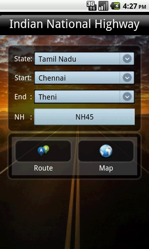 Indian National Highway - screenshot